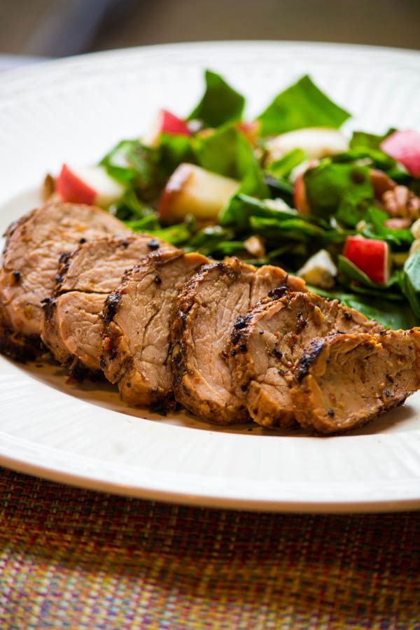 15. Maple Chipotle Barbecue Pork Tenderloin from Flavor Mosaic