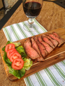 Perfectly grilled sirloin