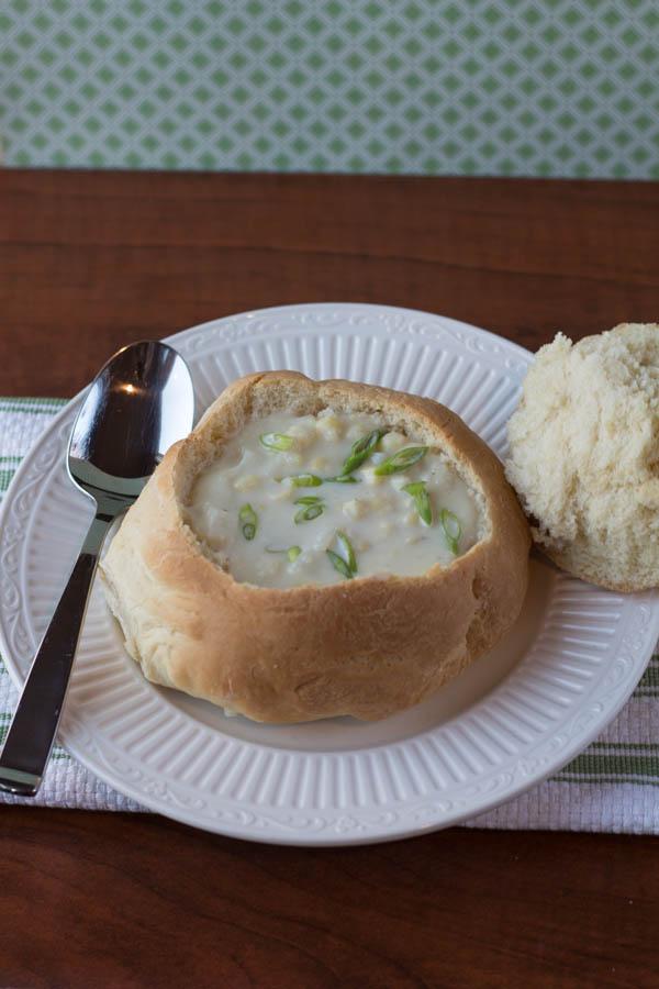 corn and potato chowder II