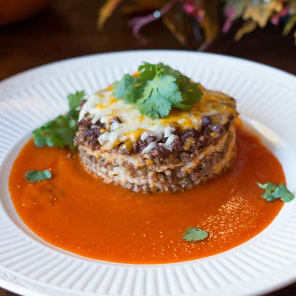 enchilada casserole cropped