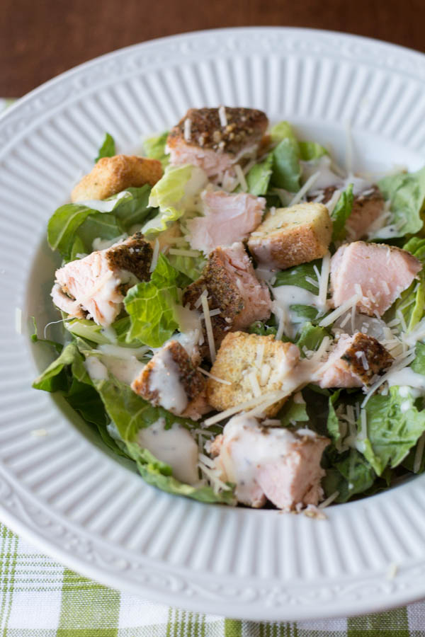 salmon caesar salad cl
