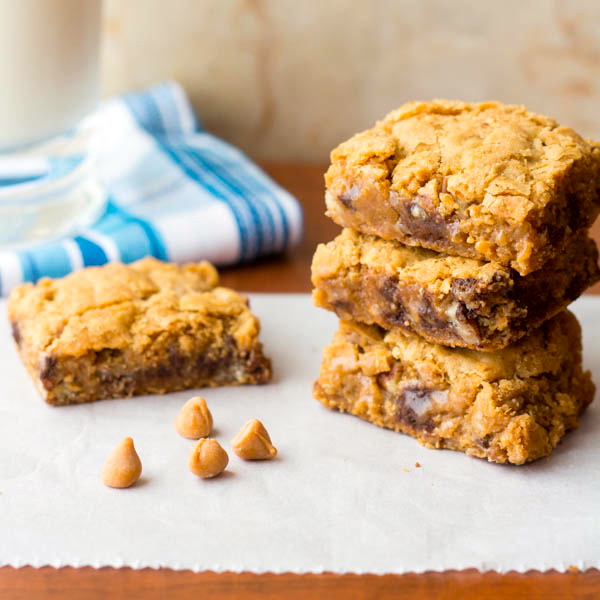 Butterscotch and Toffee Gooey Brownie Bars cii