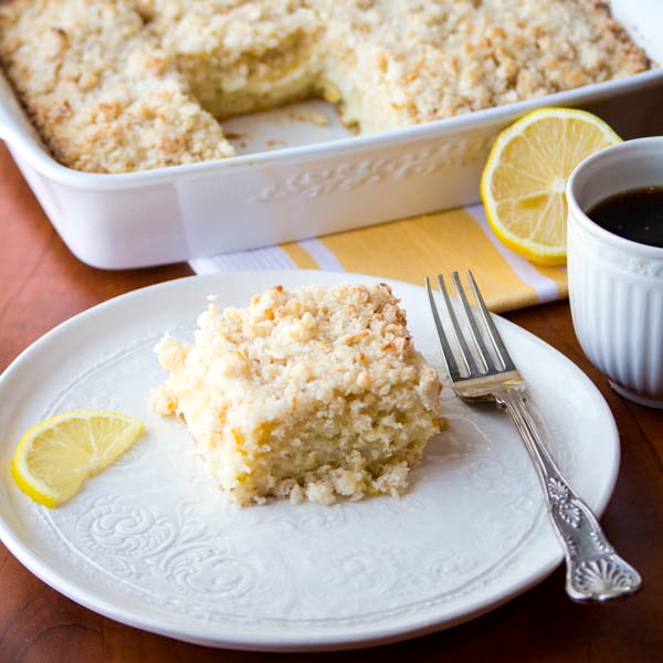 Lemon Cream Cheese Coffee Cake cii