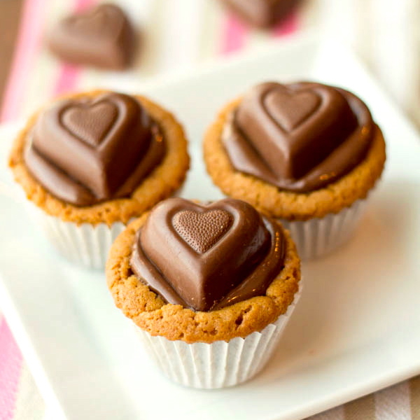 Nutella and Peanut Butter Cookie Cups ciii