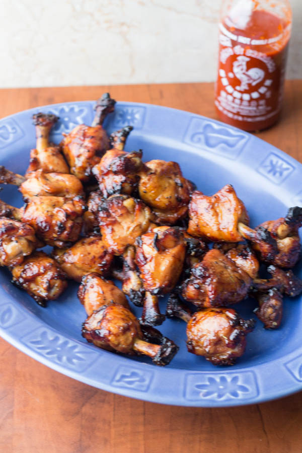Sriracha Lollipop Chicken Wings bii