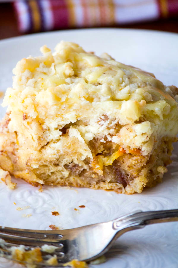 Orange Cream French Toast Bake | Two in the Kitchen v