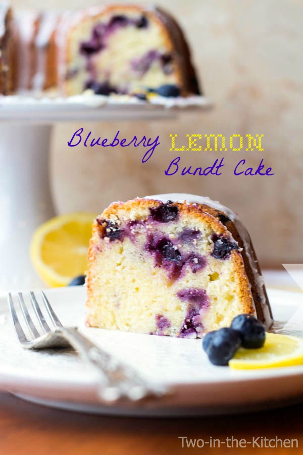Blueberry Lemon Bundt Cake  Two in the Kitchen v