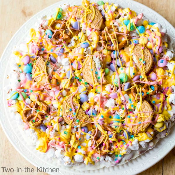Easter Candy Pizza Two in the Kitchen c