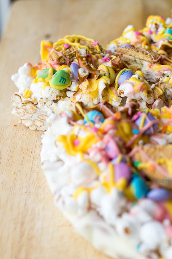 Easter Candy Pizza| Two in the Kitchen vi