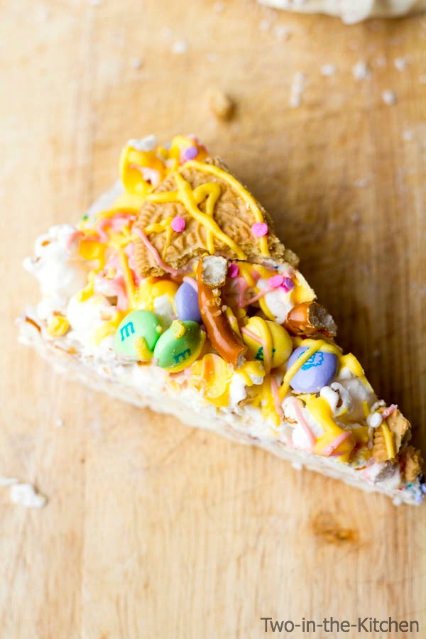 Easter Candy Pizza Two in the Kitchen vii