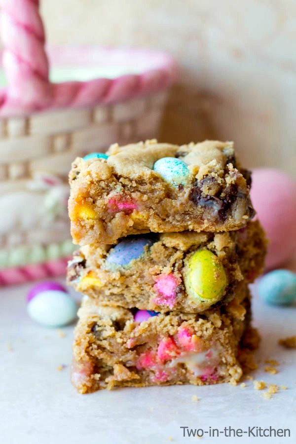 Peanut Butter Gooey Easter Bars Two in the Kitchen vii