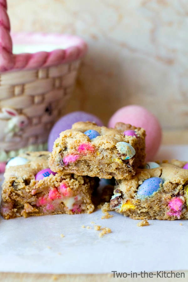 Peanut Butter Gooey Easter Bars Two in the Kitchen viii