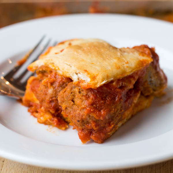 Meatball Sub Casserole | Two in the Kitchen cii