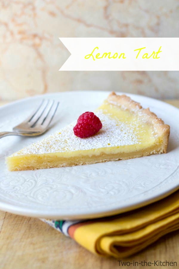 Lemon Tart  Two in the Kitchen v