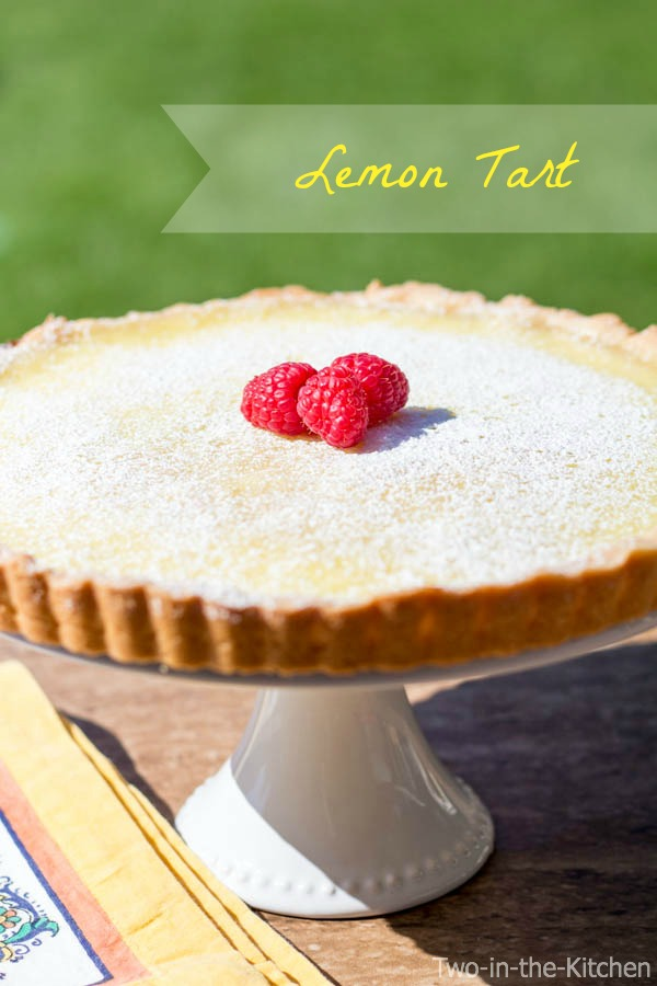 Lemon Tart  Two in the Kitchen wii