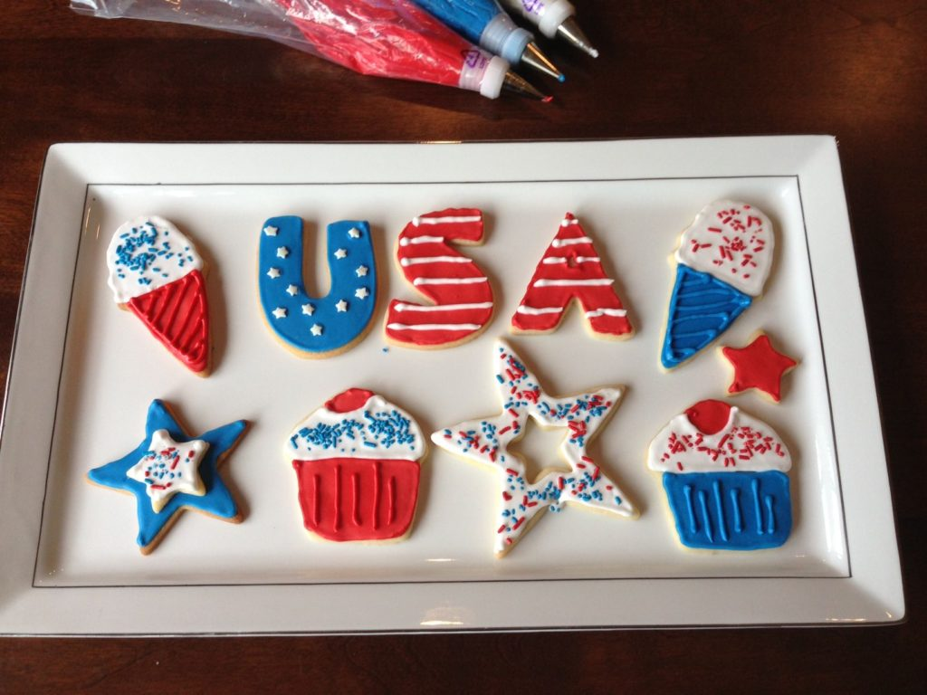 USA Cookies| Two in the Kitchen i
