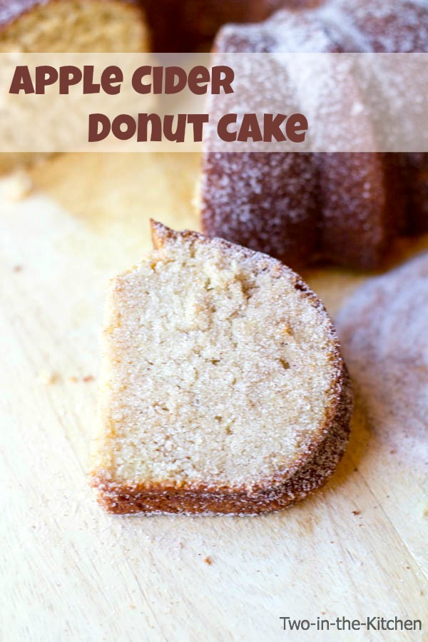 cider donuts this year and go right for an Apple Cider Donut Cake ...
