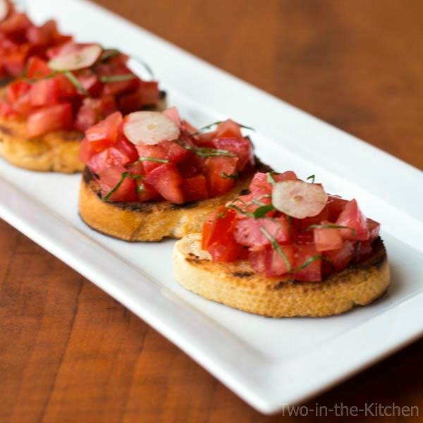 Bruschetta  Two in the Kitchen c