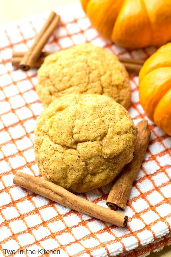 Pumpkin Snickerdoodles  Two in the Kitchen vcii