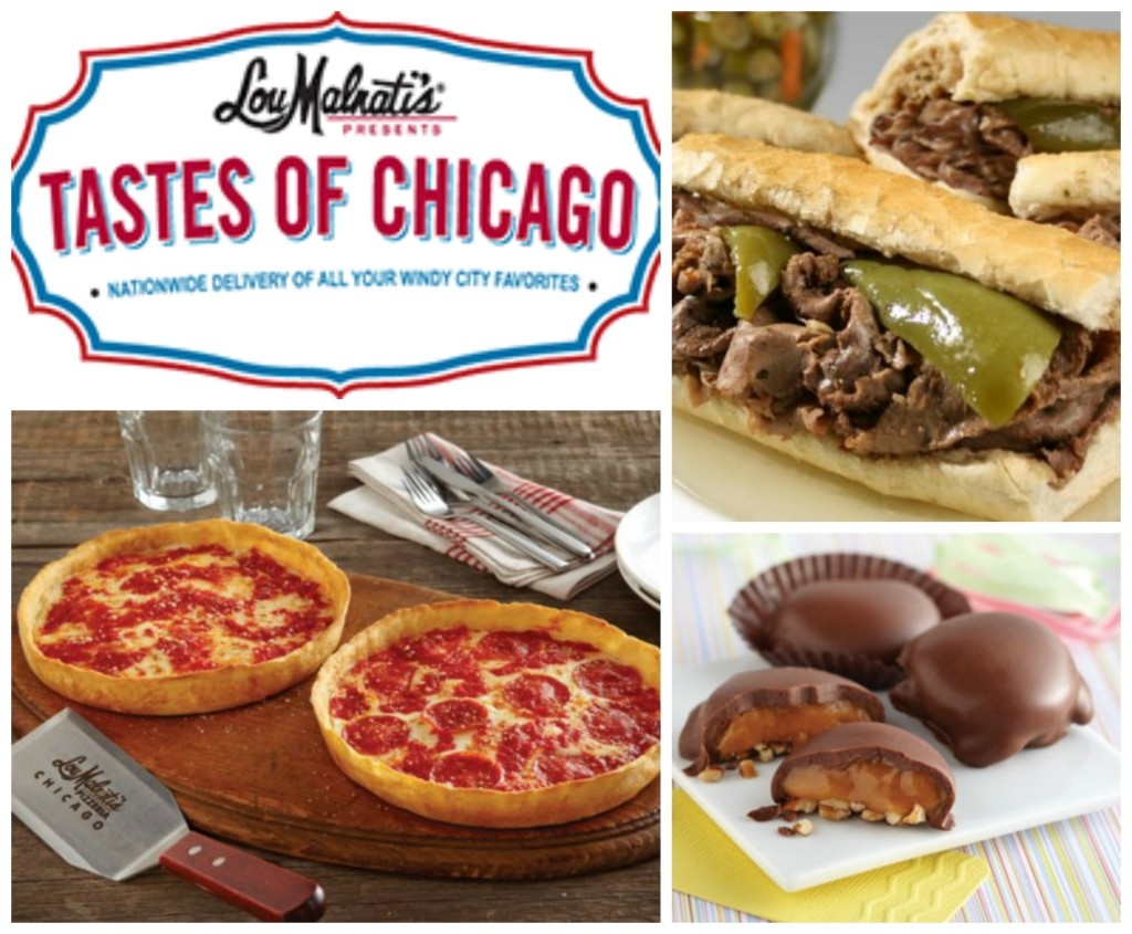 Tastes of Chicago collage
