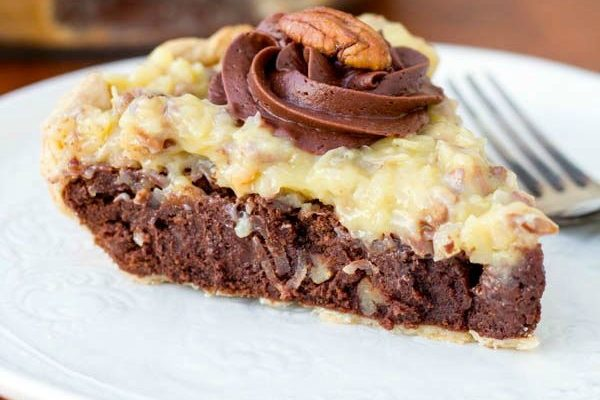 German Chocolate Fudge Pie  Two in the Kitchen cii