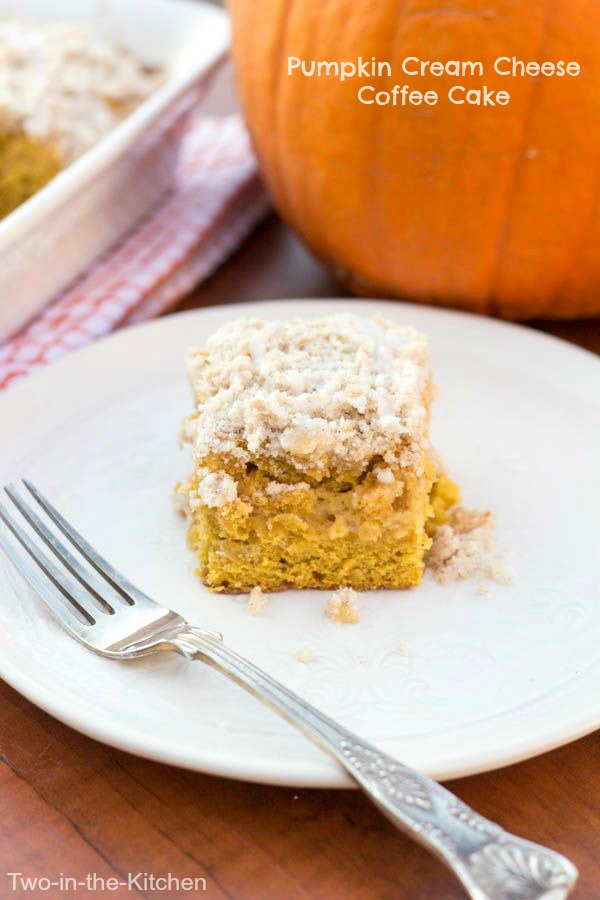 Pumpkin Cream Cheese Coffee Cake  Two in the Kitchen viv