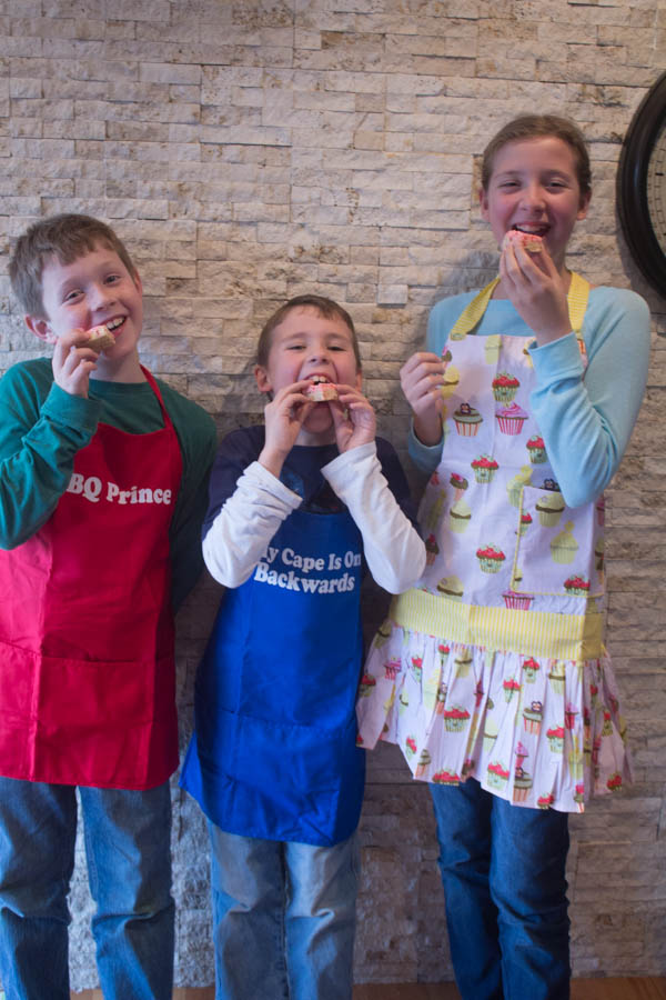 kids aprons | Two in the Kitchen