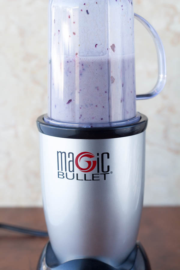 Magic Bullet Breakfast smoothie