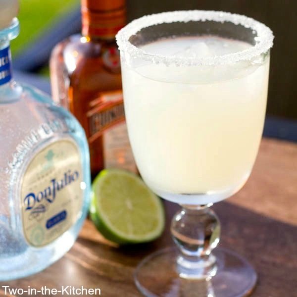 Fresh Lime Juice Margarita  Two in the Kitchen c