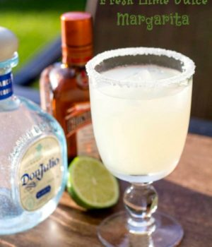 Fresh Lime Juice Margarita