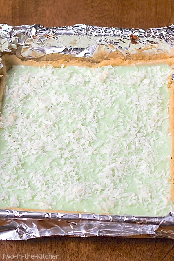 Coconut Key Lime Cookie Bars | Two in the Kitchen p
