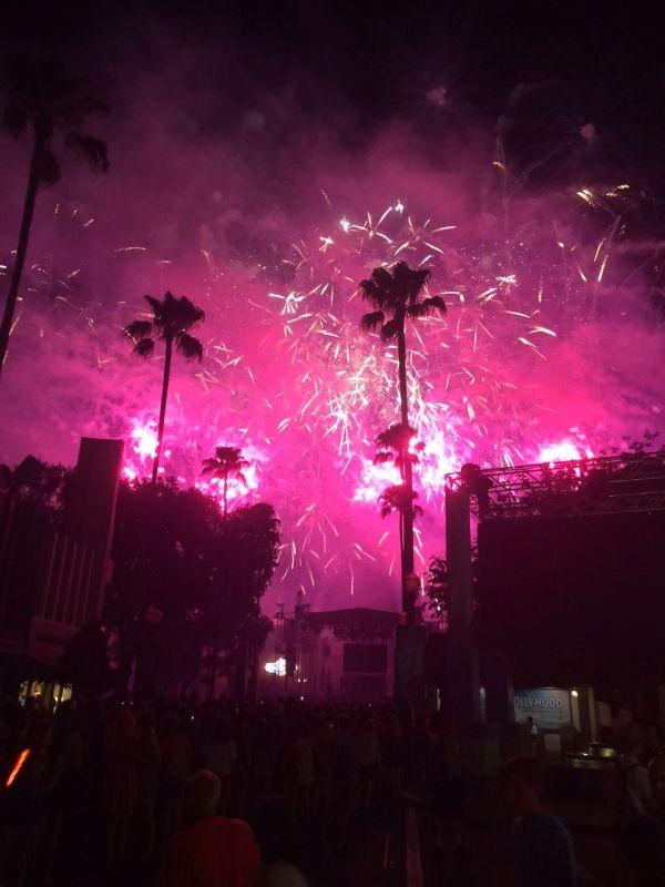 Frozen Fireworks