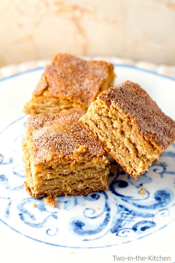 Peanut Butter Snickerdoodle Bars  Two in the Kitchen vii