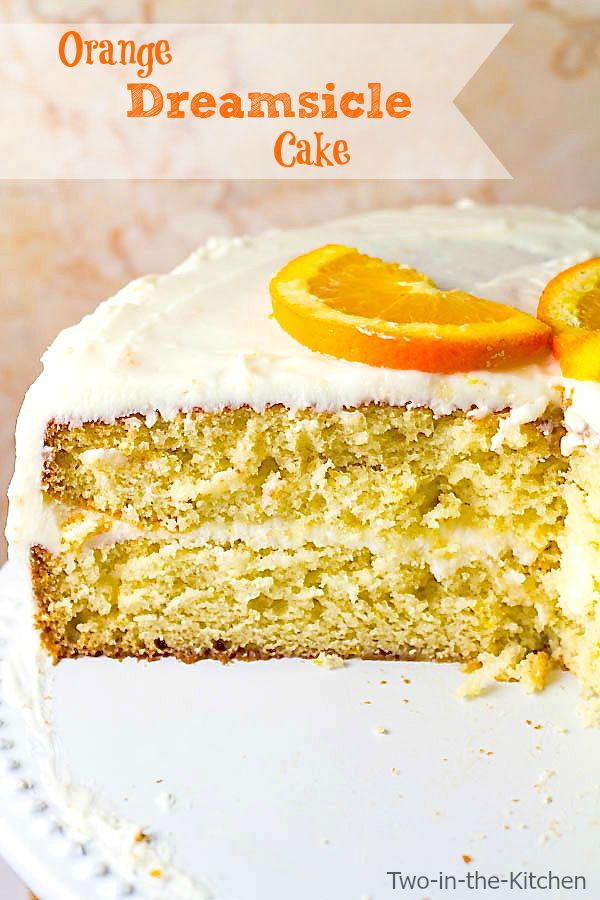 Orange Cake  Two in the Kitchen v