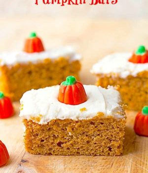 Pumpkin Bars | TWo in the Kitchen vi