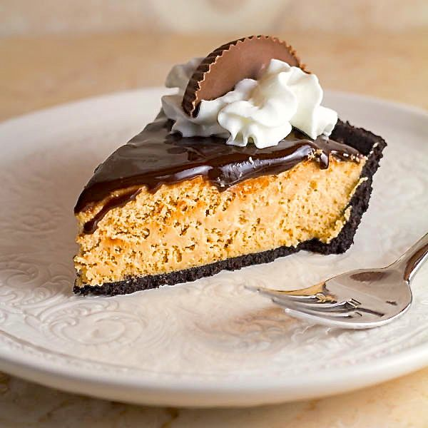 Easy No-Bake Peanut Butter Pie | Two in the Kitchen c
