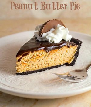 Easy No-Bake Peanut Butter Pie